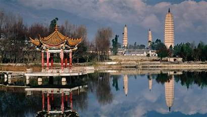 China Temple Yunnan Architecture Pagodas Salvador Asian