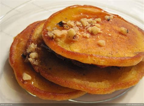 recipe for pumpkin pumpkin pancakes recipe recipeland com