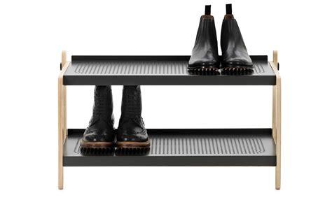 the shoe rack leo normann copenhagen sko shoe rack grey