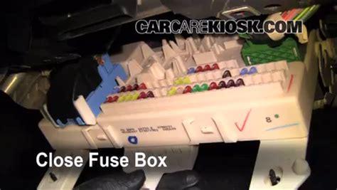 interior fuse box location   mazda   mazda