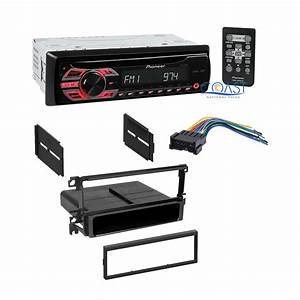 Pioneer Single Din Car Radio Stereo Dash Kit Wire Harness For 2001