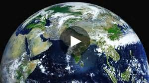 Photo Satellite De La Terre En Direct by Un Stup 233 Fiant Time Lapse De La Terre Vue De L Espace Par