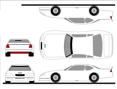 Blank Race Car Templates Graphic Design The Colors Of The Race