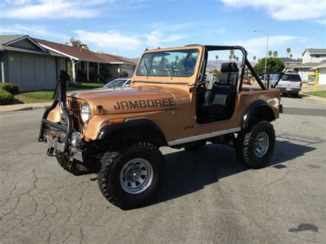1982 jeep jamboree find used rare 1982 cj7 30th anniversary edition jamboree