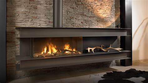 Seno Modern Wall Hung Gas Fire   High Efficiency Gas Fire