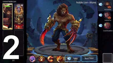 moba legends kong skull island android gameplay  youtube
