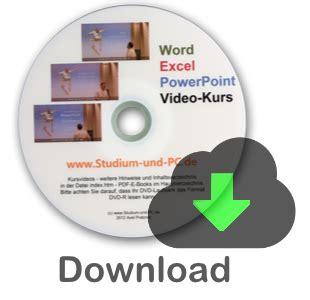 videokurs bestellen word excel und powerpoint
