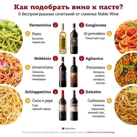Kādu vīnu izvēlēties pie pastas? - 1188 padomi