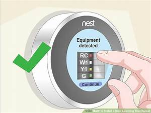 How To Install A Nest Learning Thermostat  With Pictures