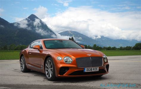 2019 Bentley Continental Gt First Drive Return Of The