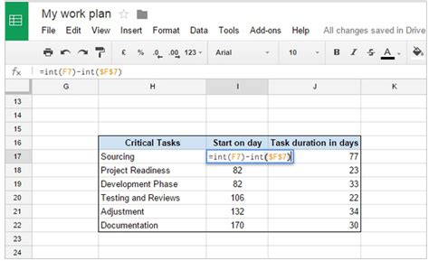 gantt chart google sheets office timeline gantt charts in docs
