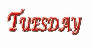 Free illustration: Tuesday, Day, Weekday, Red Tuesday ...  Tuesday