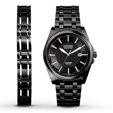 Kay  Citizen Men's Watch Matching Bracelet Bm710553e