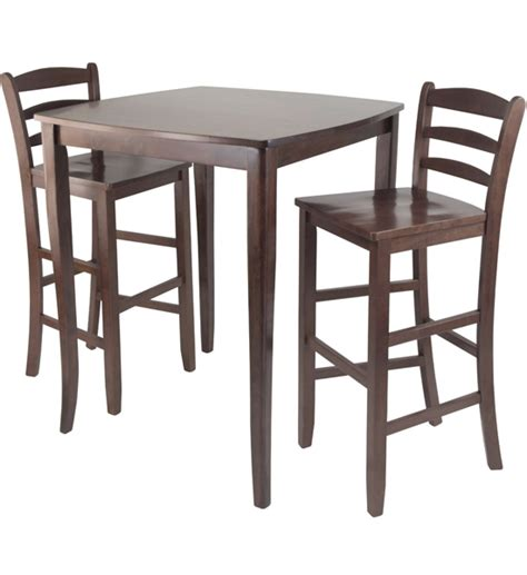 high top dining table and chairs in bar table sets