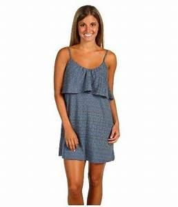 New Womens Sundress Small O Neill Dress Song Bird Spaghetti Strap Blue Versatile Usd   28 49 End