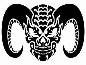 Demon Skull Tribal by Shadow696 on DeviantArt