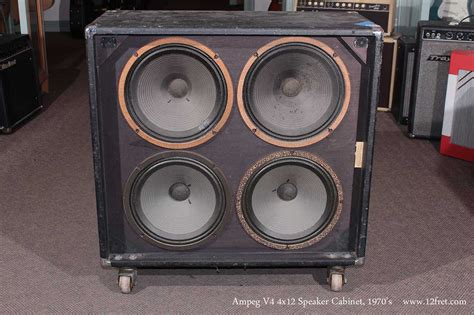 Eg V4 Cabinet For Bass by 1970s Eg V4 4x12 Lifier Speaker Cabinet Www 12fret