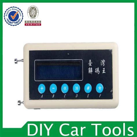 autoschlüssel funk scanner kaufen gro 223 handel car key code scanner aus china