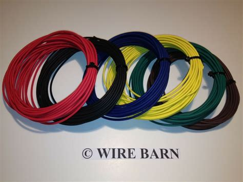 6 colors high temp 22 gauge 22 awg txl automotive wire
