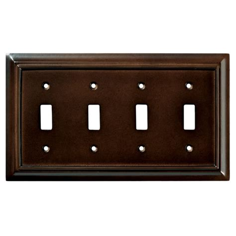 Liberty Kitchen Cabinet Hardware by Liberty Hardware Shop 126345 Switchplates Espresso