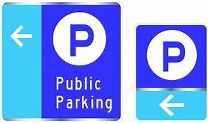 New Way Finding Parking Signs in Downtown