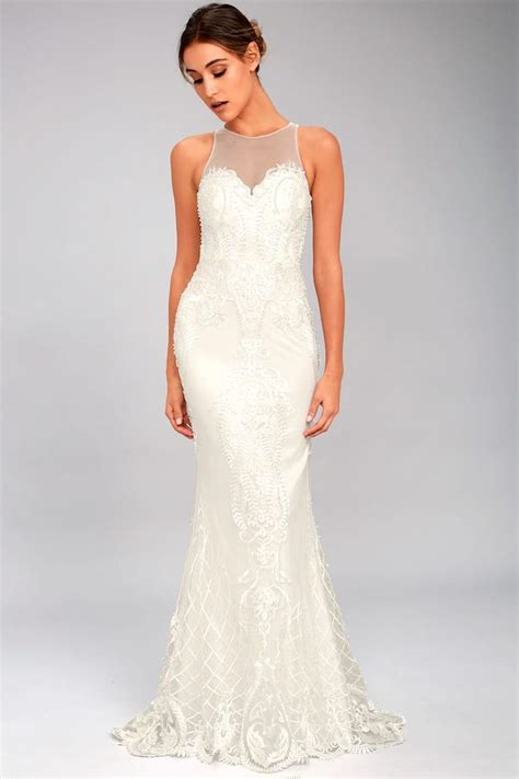 wedding dresses    lulus aisle perfect