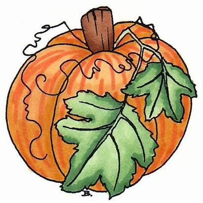 Clipart Fall Clip Pumpkin Autumn Thanksgiving Halloween