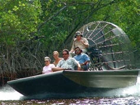 everglades fan boat rides airboat tours