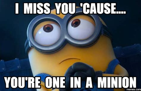 I Miss You Funny Meme - funny cute miss you memes memeologist com