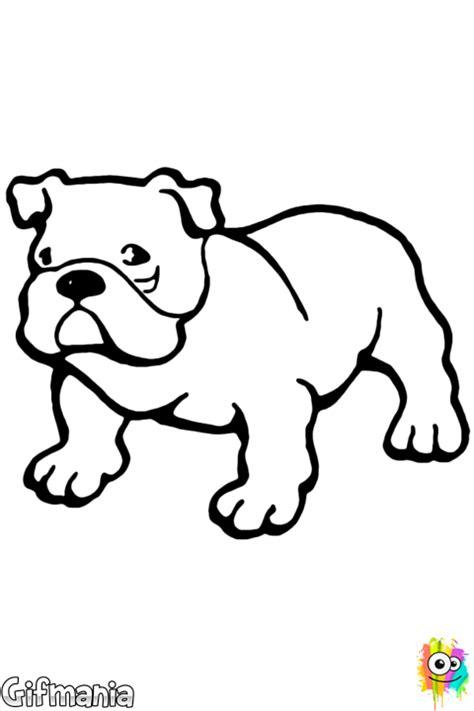 Amerikaanse Bulldog Kleurplaat by Bulldog Kleurplaat