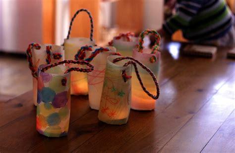 deko ideen laterne basteln mit kindern schnelle ideen fuer den martinsumzug