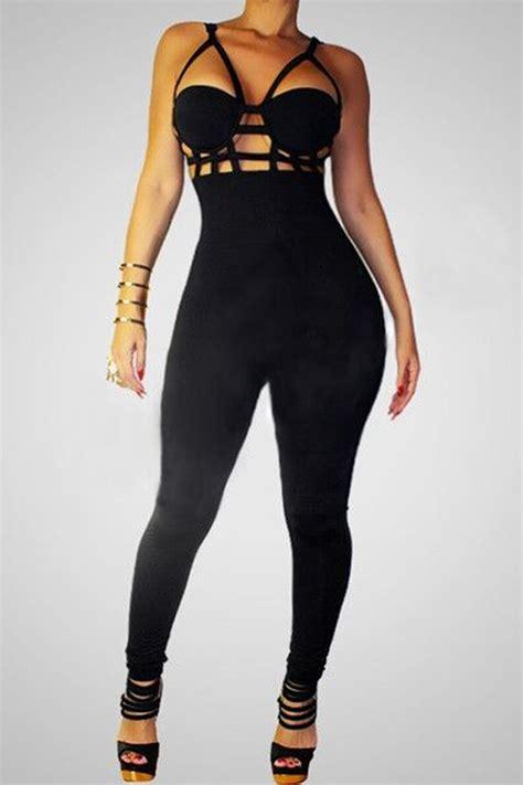 bodycon jumpsuits 2015 fashion sleeveless jumpsuit