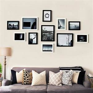 Living room decor sweet family happiness collection wooden for Interior design wall of frames