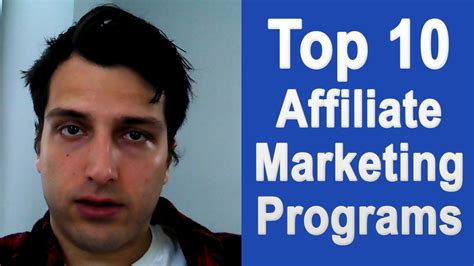 top marketing courses top 10 affiliate marketing programs best networks for