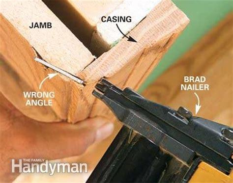 How to Use a Trim Nailer Gun   The Family Handyman