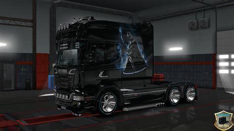 scania rs longline scania  longline star wars truck