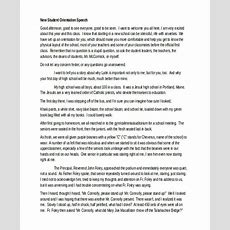 6+ Orientation Speech Examples, Samples Examples