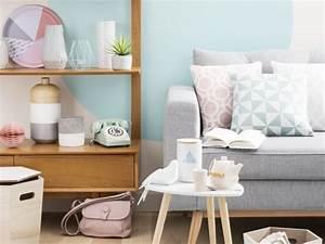 pinterest o le catalogue d39idees With couleur pastel pour salon 6 un salon vintage le blog deco de maisons du monde