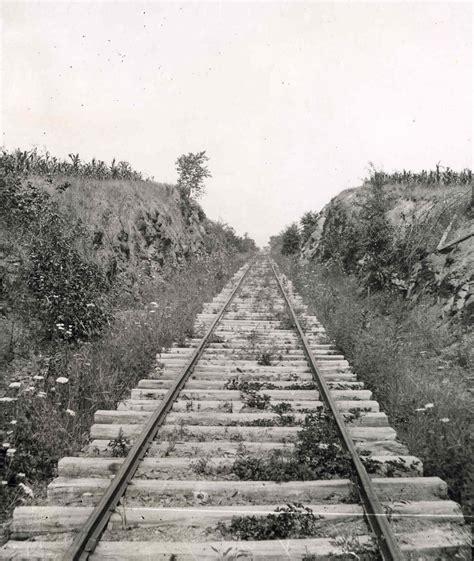 Gettysburg Railroad Cut At