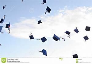 Graduation Hats Stock Images - Image: 884654