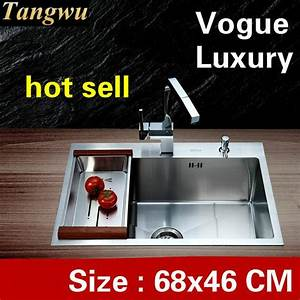 Free Shipping Home Wash Vegetables Kitchen Manual Sink