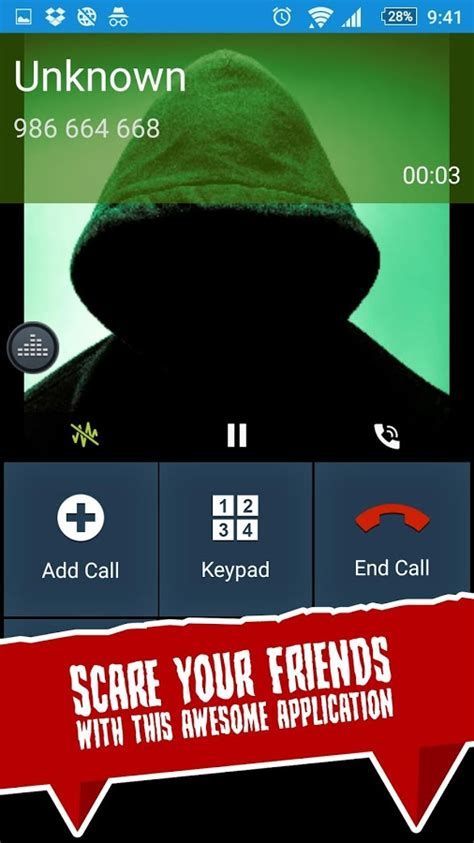 scary phone numbers to call scary prank call android apps on play