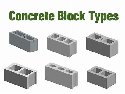 Block Concrete Types Cement Hollow Building Satya