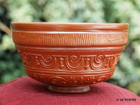 panier 騅ier cuisine ceramique gallo romaine bol sigillee du sud de la gaule dr 29 mod petit via temporis