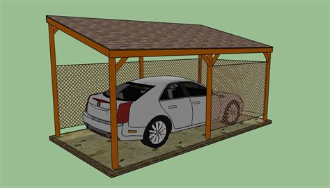 building a carport how to build a lean to carport howtospecialist how to