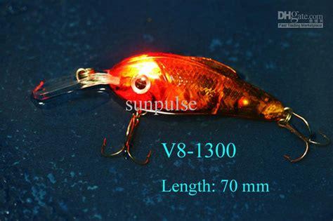 cm  led fishing lure crank floating lure hard