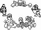 Coloring Pages Arcade Avengers Chibi Quicksilver Marvel Printable Games Getdrawings Coloringbay Getcolorings Colo sketch template