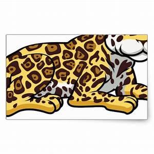 Cute Cartoon Jaguars
