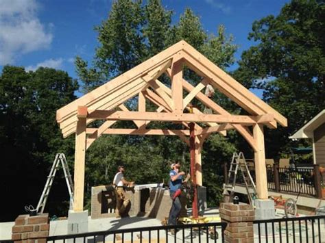 timber frame outbuildings carports outdoor kitchens