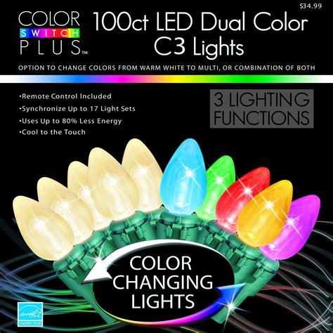 color switch plus color switch plus dual color changing led c3